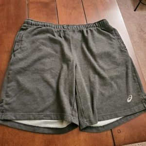 Asics shorts sweatpants material